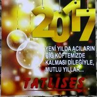 Photo taken at Tatlıses Çiğ Köfte by Tatlıses ÇiğKöfte L. on 12/30/2016