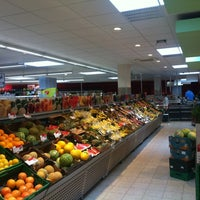 Photo taken at REWE by Norman T. on 7/13/2013