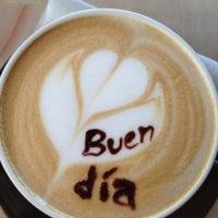 Photo taken at Tradiciones Latte Art Café by Silke D. on 11/25/2012
