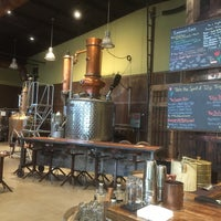 Photo taken at Coppercraft Distillery by Ashleigh M. on 5/10/2015