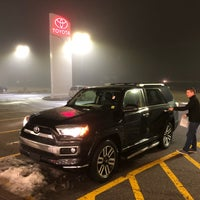 Photo taken at Fuccillo Toyota of Grand Island by Nicholas T. on 2/15/2018