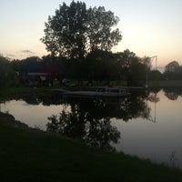 Photo taken at Lake Elia by Nicholas T. on 9/1/2013
