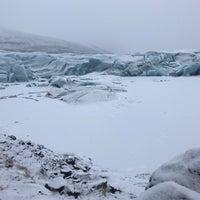 Photo taken at Svínafellsjökull by Najd A. on 3/20/2018