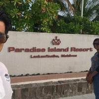 Photo taken at Paradise Island Maldives by Ashik R. on 1/15/2016