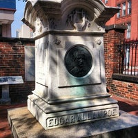 Photo taken at Grave of Edgar Allan Poe by Stanislav L. on 9/17/2012