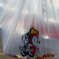 Photo taken at Hoka Hoka Bento SPBU Cibogo by adistya on 8/12/2013