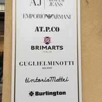 Photo taken at News Abbigliamento Armani Jeans by Max R. on 1/12/2016