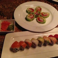 Photo taken at Sushi Axiom by Jenn on 3/7/2013