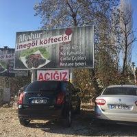 Photo taken at inegöl yolu by Merve Ö. on 11/20/2016