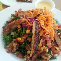 Photo taken at Veggie Grill by Michael L. on 4/23/2013