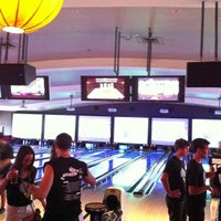 Photo taken at Lucky Strike Lanes by Justin M. on 6/22/2013