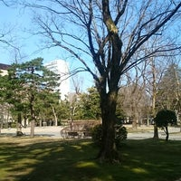 Photo taken at The Fourth High School Memorial Park by Ikehan3 on 3/18/2018
