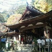 Photo taken at 岩間寺 (岩間山 正法寺) by Ikehan3 on 11/26/2016