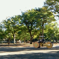 Photo taken at The Fourth High School Memorial Park by Ikehan3 on 9/26/2013