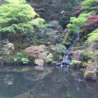 Photo taken at Portland Japanese Garden by Simon F. on 4/19/2015