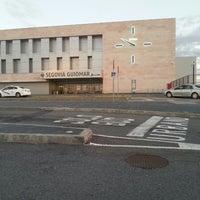 Photo taken at Estación de Segovia-Guiomar by Enrique R. on 6/12/2013