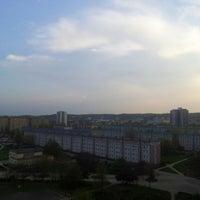 Photo taken at Przymorze by Kacper K. on 5/8/2013