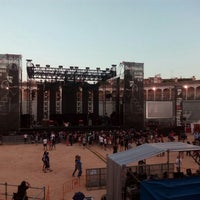 Photo taken at Plaza De Toros Albacete by Odnanrefgv on 7/17/2015