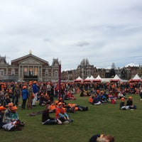 Photo taken at Museumplein by Joep on 4/30/2013