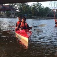 Photo taken at kayak under pulau melaka bridge by Aiman 9. on 3/22/2016