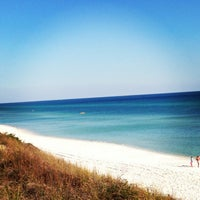 Photo taken at Blue Mountain Beach by Michelle N. on 3/15/2013