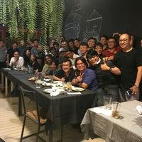 Photo taken at ร้านระเบียง (Rabiang Cafe and Restaurant) by ประพันธ์พงศ์ จ. on 4/29/2017
