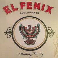 Photo taken at El Fenix Restaurant by Elaine P. on 2/23/2013