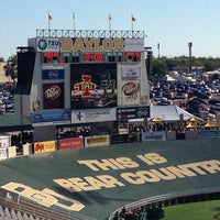 Photo taken at Floyd Casey Stadium by Elaine P. on 10/19/2013