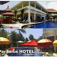 Photo taken at Bali Paradise Hotel by Bali Paradise H. on 11/20/2015