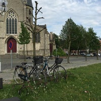 Photo taken at Kerkplein Kruibeke by Daan V. on 5/11/2016