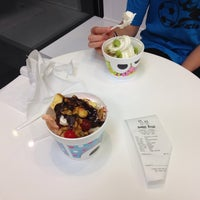 Photo taken at Sweet Frog Premium Frozen Yogurt by Murat T. on 4/7/2014