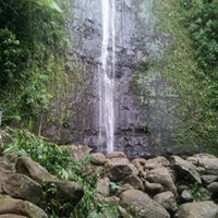 Photo taken at Mānoa Falls by Gabby G. on 5/21/2013
