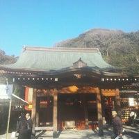 Photo taken at 鶴岡八幡宮 若宮 by sea_field4649 on 1/12/2013