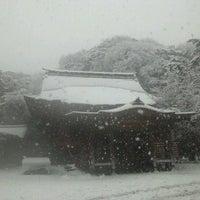 Photo taken at 鶴岡八幡宮 若宮 by sea_field4649 on 1/14/2013