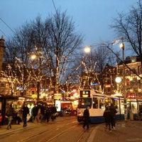 Photo taken at Leidseplein by Artyom L. on 12/16/2012