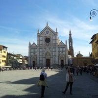 Photo taken at Basilica of Santa Croce by Eduardo S. on 10/18/2012