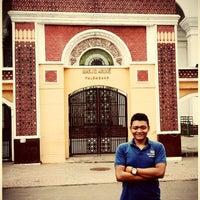 Photo taken at Masjid Agung Palembang by Iwan S. on 1/19/2014