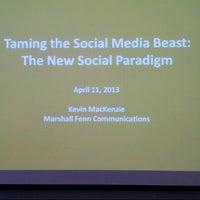 Photo taken at McMaster Innovation Park (MIP) by Shanta N. on 4/11/2013
