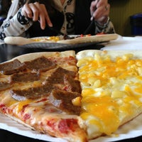 Photo taken at Mesa Pizza By The Slice by Tom H. on 6/9/2013