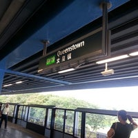 Photo taken at Queenstown MRT Station (EW19) by Intan S. on 12/27/2012