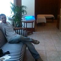 Photo taken at The Dharmawangsa Hotel by Ayeeb S. on 11/21/2012