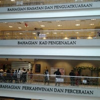 Photo taken at Jabatan Pendaftaran Negara (JPN) by Ammar H. on 12/3/2012