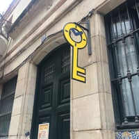 8/31/2017 tarihinde Liz D.ziyaretçi tarafından Lock-Clock Escape Room Barcelona'de çekilen fotoğraf