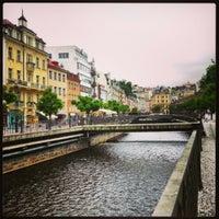 5/24/2013 tarihinde Popova Z.ziyaretçi tarafından Karlovy Vary | Karlsbad'de çekilen fotoğraf