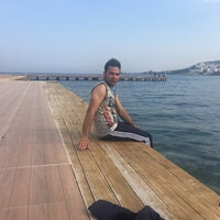 Photo taken at Beach by Mohammad R. on 3/30/2017