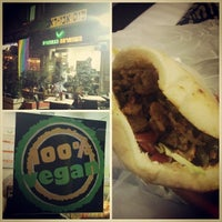 Photo taken at The Vegetarian Shawarma by is it vegan? on 6/11/2014