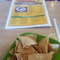 Photo taken at Taqueria Aguas Calientes by Chase S. on 2/12/2016