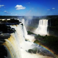 Photo taken at Iguazú National Park by Nikita S. on 4/10/2013