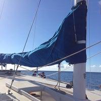 Photo taken at Trilogy Ocean Sports Lana'i by Edgar G. on 1/10/2014