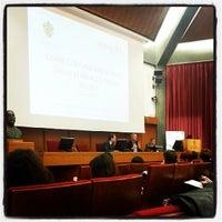 Photo taken at Fondazione Edmund Mach by Ilaria R. on 11/8/2013